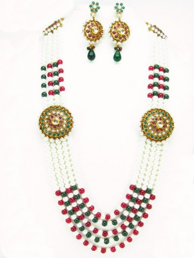 Costume Rajwadi Jewellery Set 56005