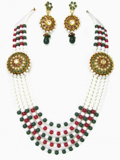 Costume Rajwadi Jewellery Set 56006