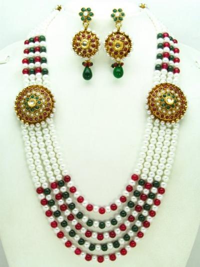 Costume Rajwadi Jewellery Set 56010