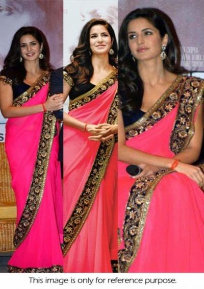 Katrina Kaif pink saree