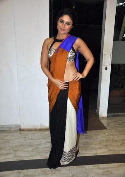Kareena Kapoor Stylish flim fare saree