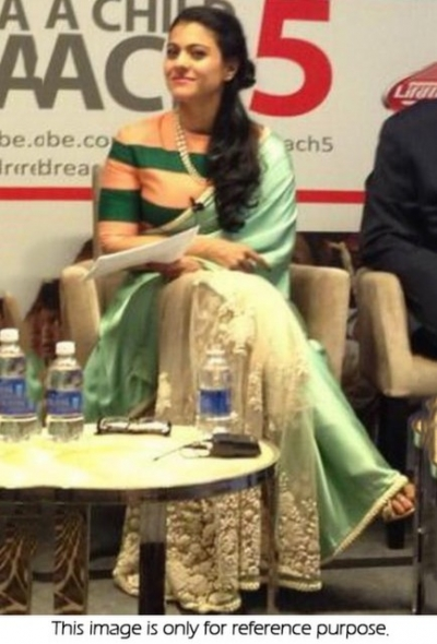 Kajol life style saree