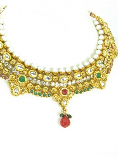 Polki Necklaces 71074