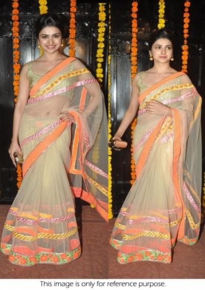 Prachi lifestyle saree