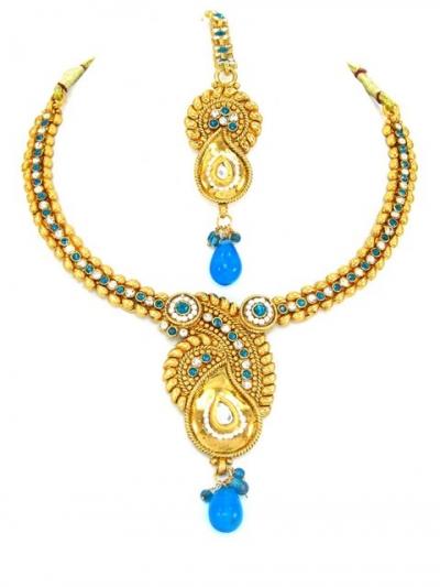 Indian Polki Necklaces 61317