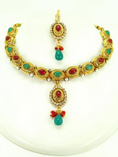 b8fb7a2e835ff Indian Polki Necklaces 60716