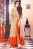 Peachy Beige And Orange Anarkali Suit