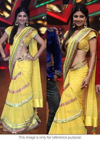 Shilpa shetty nach baliye saree