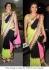 Anushka sharma tri color saree