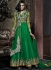Goodness Green Net Anarkali Suit