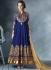 Obligingness Blue Georgette Anarkali Suit