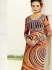 Amicability Multi Color Cotton Silk Pencil Style Churidar Suit