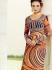 Amicability Multi Color Cotton Silk Pencil Style Churidar Suit