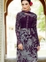 Amicability Wine Cotton Silk Pencil Style Churidar Suit
