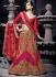 Decency Red Georgette Designer Lehenga Choli