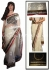 Anushka sharma white bollywood saree