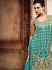 Graciousness Teal Georgette Anarkali Suit
