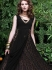 Amicableness Black Net Long Anarkali Suit