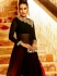 Refreshing Black Georgette Palazzo Anarkali Suit