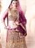 Insightful Purple Cotton Satin Lehenga Choli