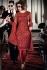 Priyanka Chopra Maroon Georgette Churidar Suit