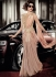 Priyanka Chopra Peach color Lycra Gown