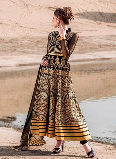 Superb Georgette Anarkali Salwar Suit