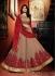 Mystical Shilpa Shetty Maroon Ceremonial Desinger Anarkali Salwar Suit
