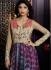 Voguish Shilpa Shetty Multi Colour Party Anarkali Suit
