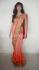 Deepika padukone dual color saree