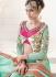 Bridal Sea Green Net Designer Wedding Lehenga choli