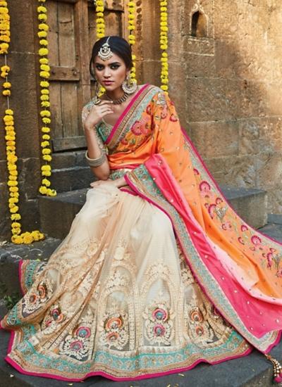 Topnotch Pure Soft Silk Multi Color Saree