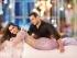 Sonam Kapoor purple color netted Prem Ratan bollywood saree