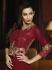 Malaika Arora Khan Maroon Resham Work Designer Suit