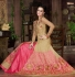Beige color banglori silk party wear lehenga style anarkali suit