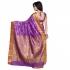 Designer Paithani Pallu Art Saree-Lavender