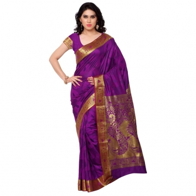 Designer Paithani Pallu Art Saree-Majenta