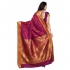 Designer Paithani Pallu Art Saree-Red