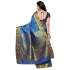 Designer Paithani Pallu Art Saree-Sky Blue