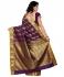 Kanchipuram Art Silk Saree Mango design With Blouse Piece-Magenta