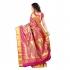 Kanchipuram Silk Full Brocade Zari Leaves Theme Pallu Art Saree-Rani