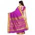 Nandani Art Silk Rich ZariPallu Emboss Art saree-Purple