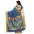 Nandani Art Silk Rich ZariPallu Emboss Art saree-Rama Green