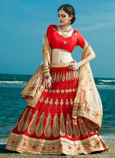 Red-net-embroidered-work-wedding-wear-lehenga-choli-401-1