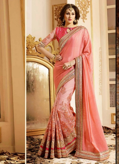 patch-border-work-party-wear-saree-peach-chiffon-1