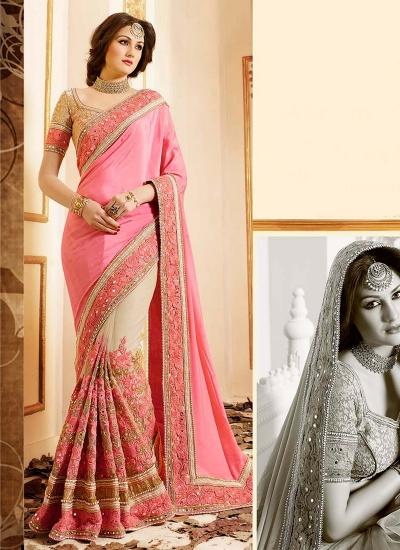patch-border-work-party-wear-saree-pink-chiffon-1