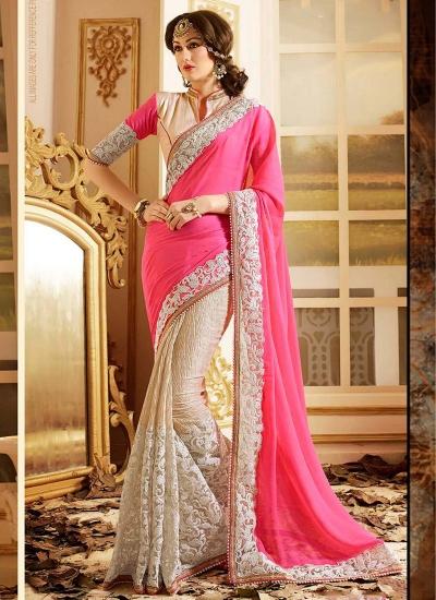 patch-border-work-party-wear-saree-pink-chiffon-2