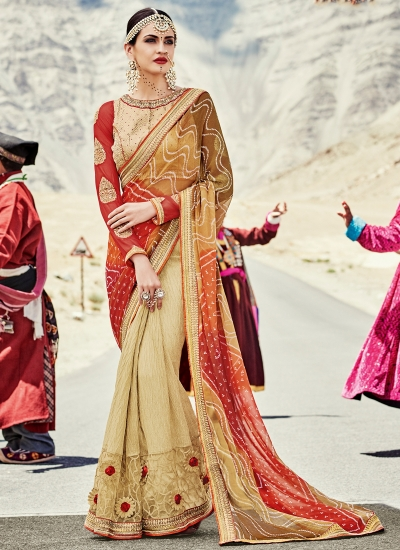 faux-georgette-heavy-embroidery-work-party-wear-Saree-beige-2007
