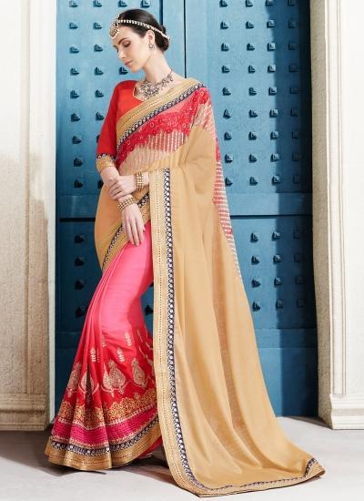 georgette-embroidery-work-party-wear-saree-beige-2506