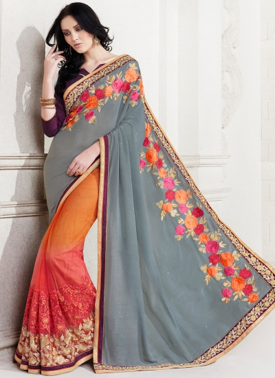 chiffon-embroidered-work-party-wear-saree-grey-2513